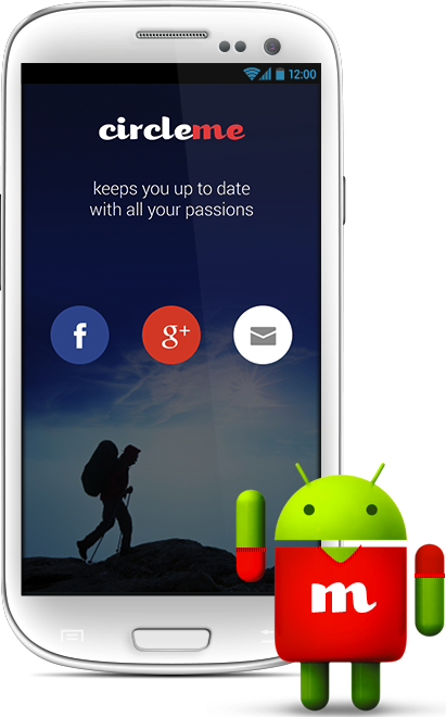 android login page